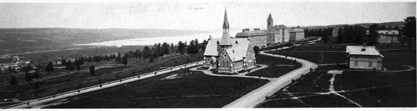 Sage Chapel as it appeared in the late 1870s.