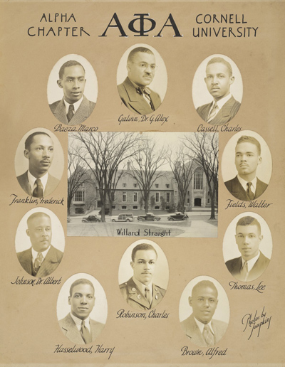 Alpha Phi Alpha Fraternity, Inc., Alpha Chapter, ca. 1940s.