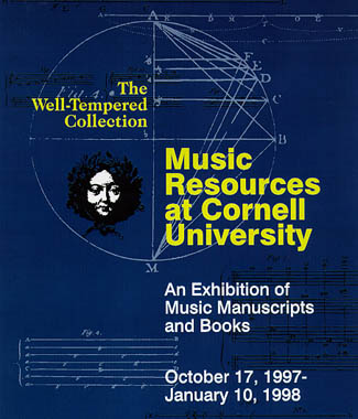 Cornell Music Resources Exhibition Poster
