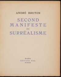 THE MANIFESTO OF SURREALISM PDF DOWNLOAD